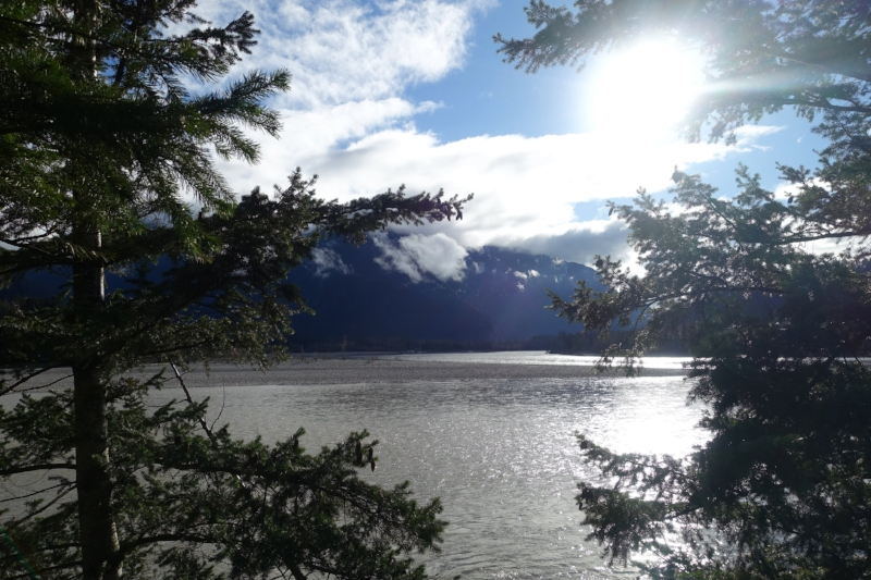 the fraser river at hope