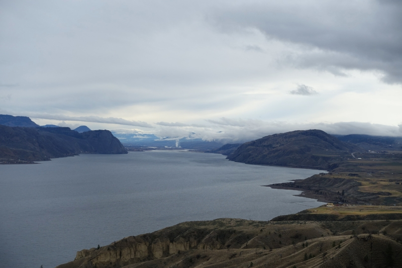 kamloops lake at savona