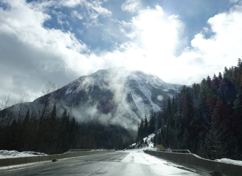 the road to revelstoke