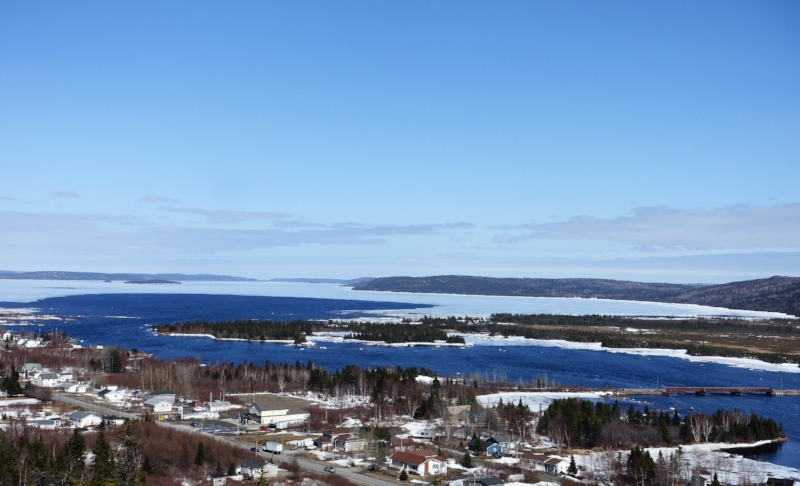 view of the town of gambo