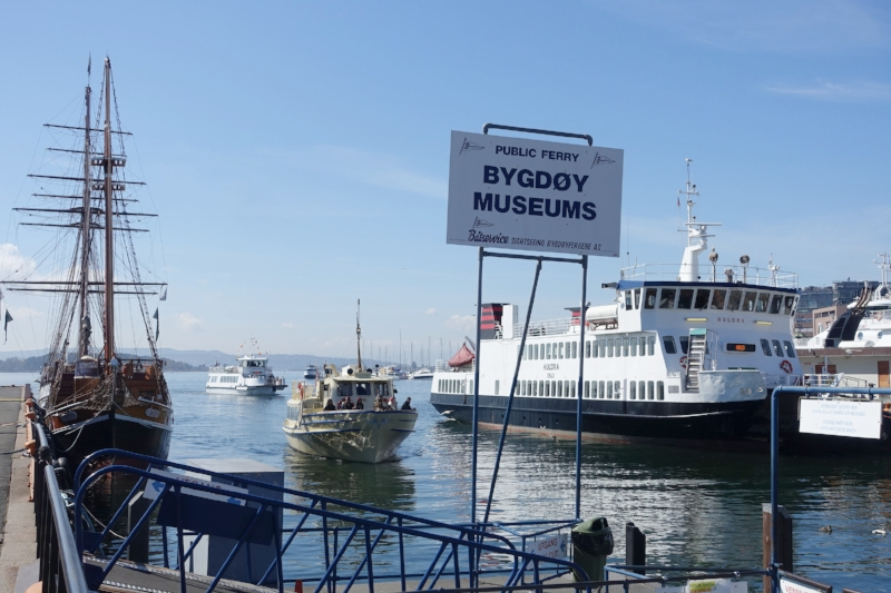 ferry to the viking ship and other museums