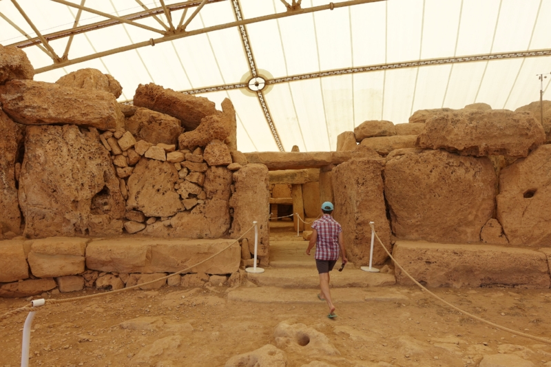 checking out mnajdra