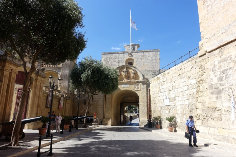 gate into mdina