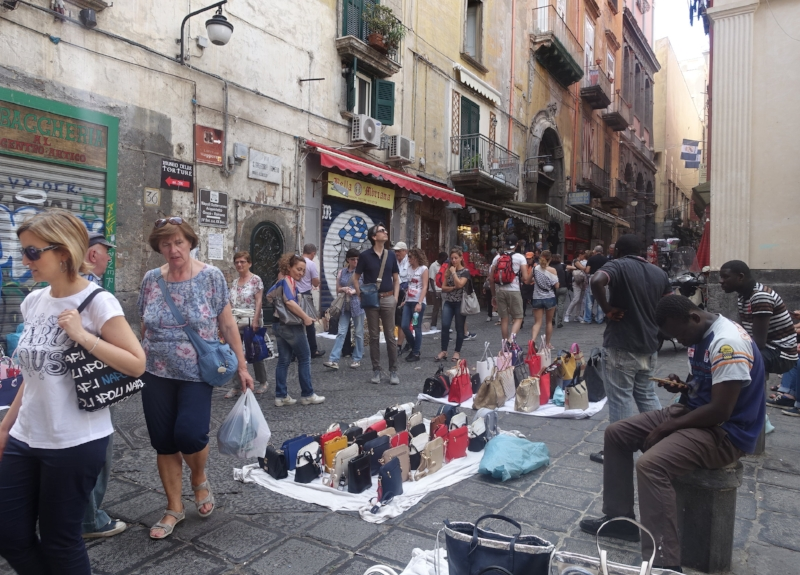 Need a Knock-off Handbag? Naples is the Place