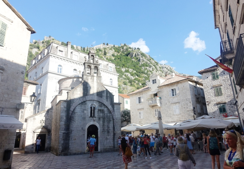 inside kotor's stari grad