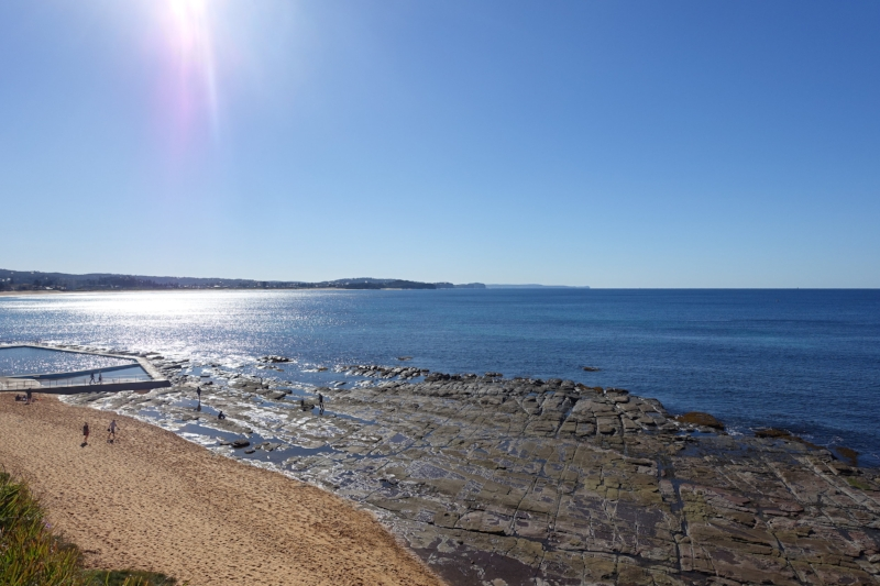 rock platform, collaroy beach