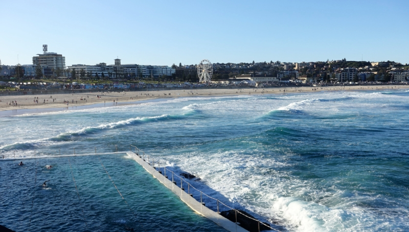 bondi beach and the ocean pool