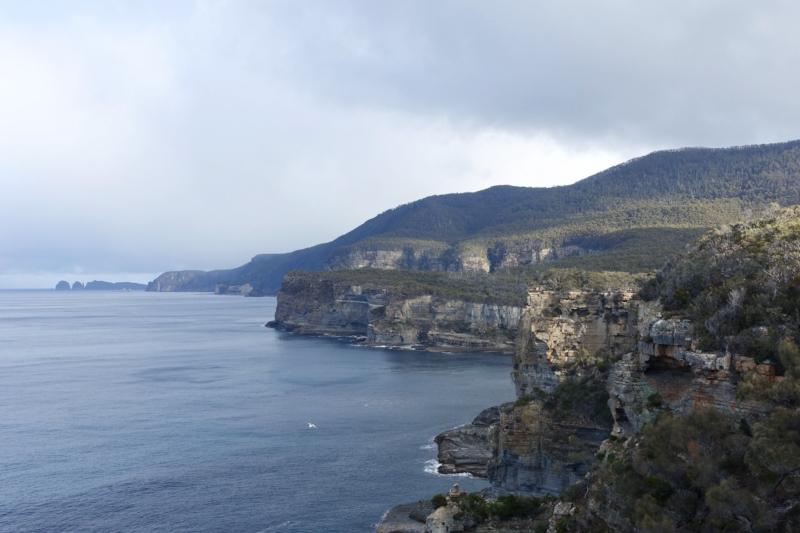 tasman peninsula sea cliffs