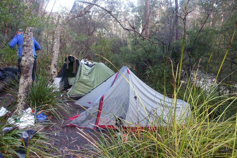 second night campsite