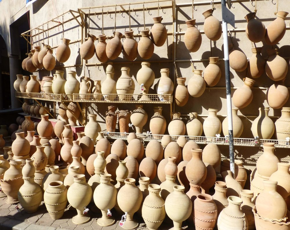 traditional pottery nizwa