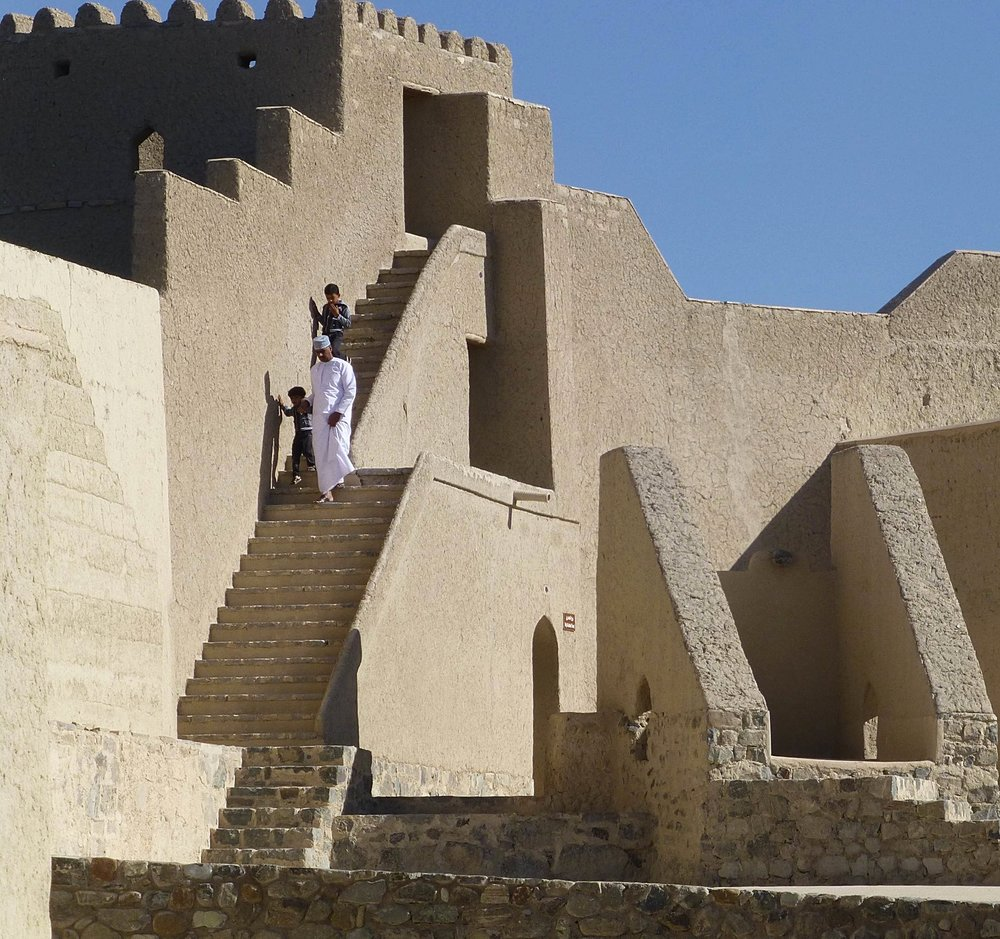 inside bahla fort