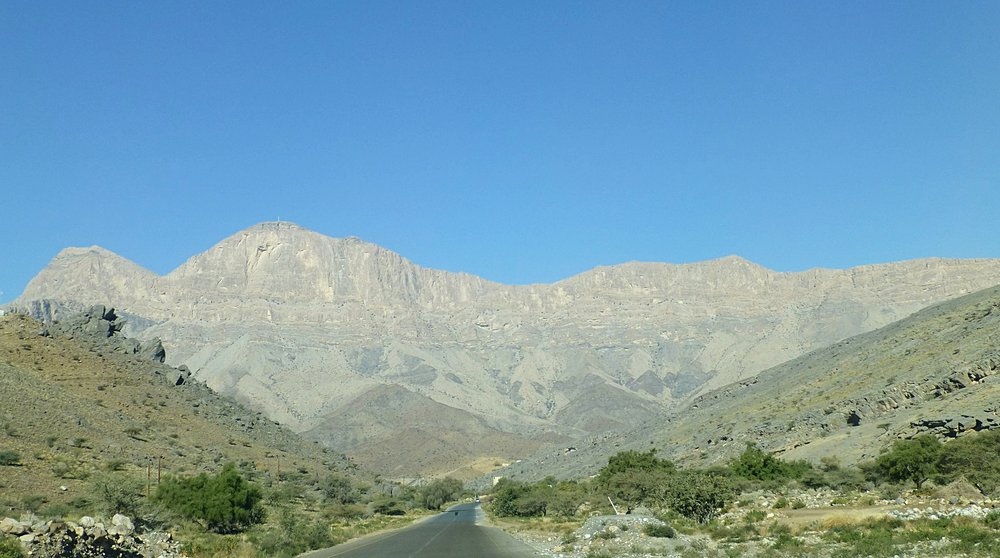 heading to jebel shams