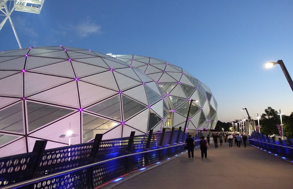 heading into AAMI Park