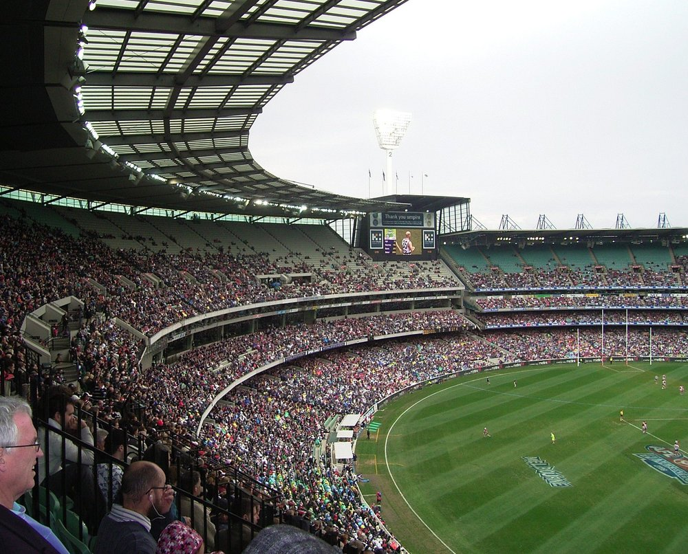 watching a game at the mcg