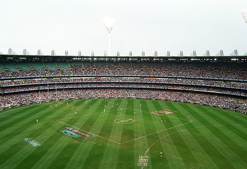 afl at the mcg is hard to beat as a sporting spectacle