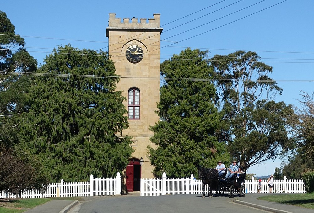 st luke's Anglican church Richmond, 1834