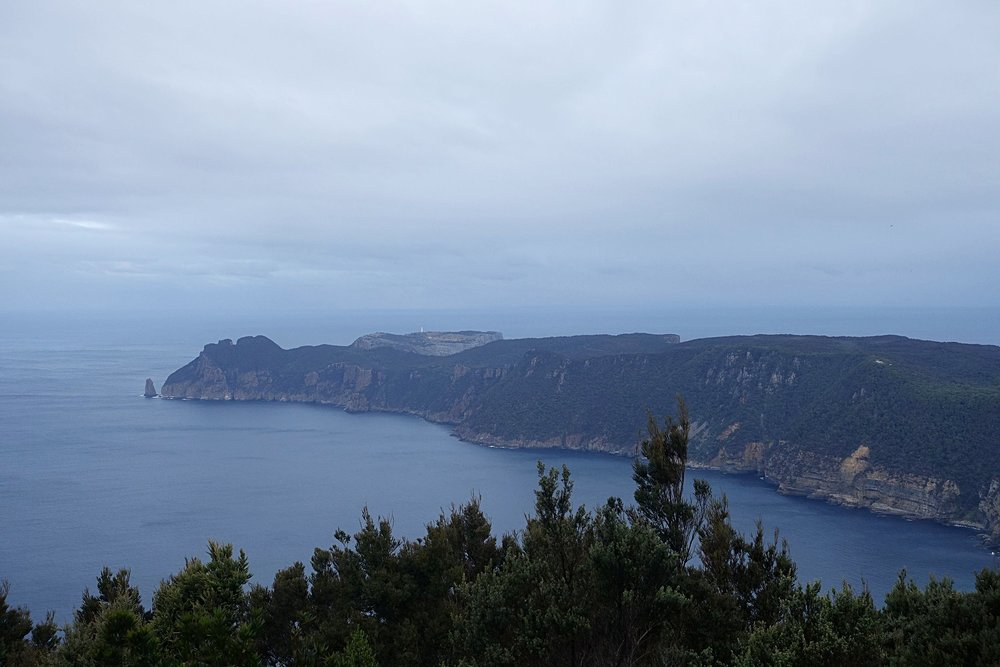 cape pillar with tasman island behind