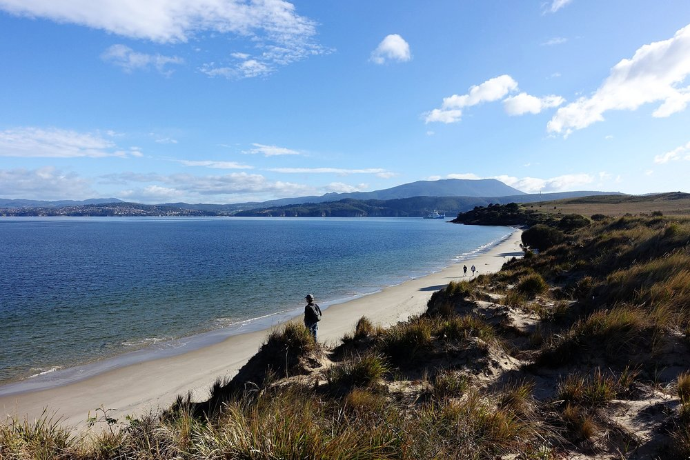 mitchells beach, south arm