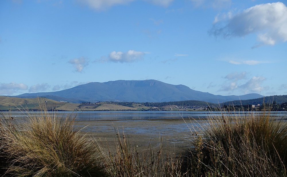 view from ralphs bay (at low tide)