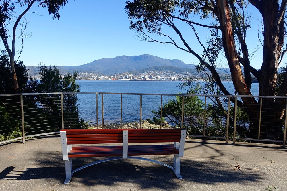 take in the sights on a walk around bellerive bluff