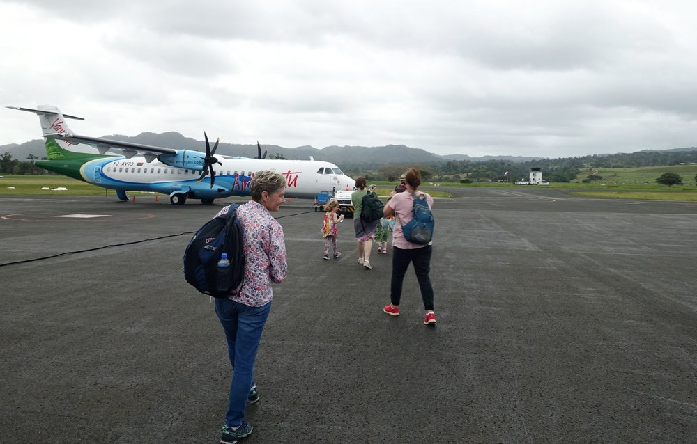 off to tanna