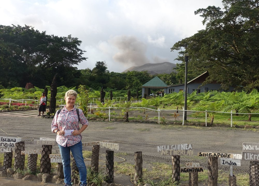 mt Yasur visitors centre