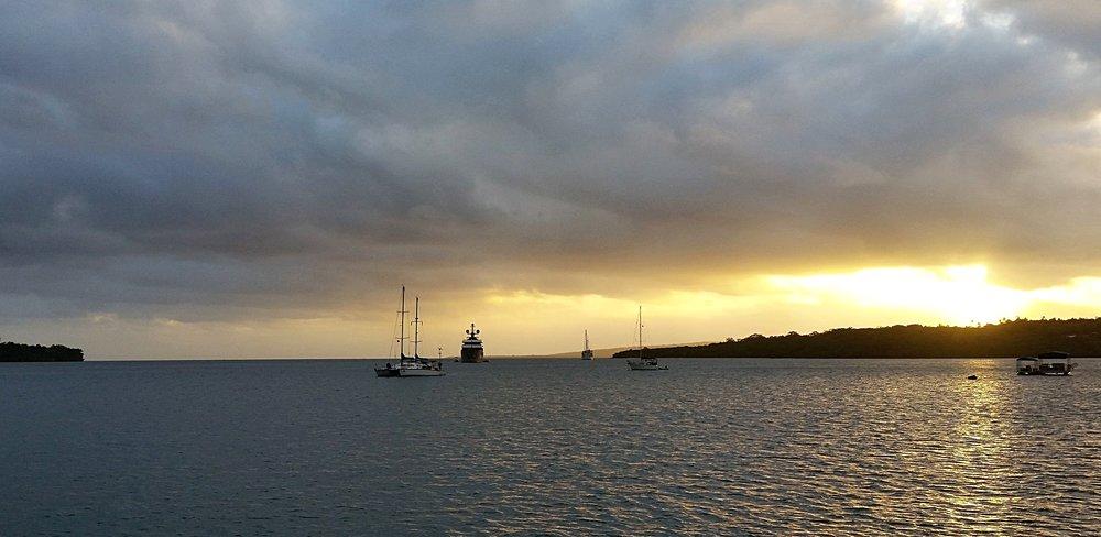 port vila sunset