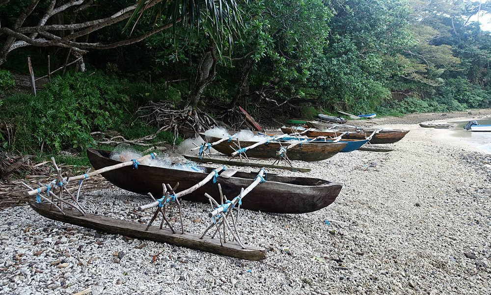traditional canoes, tanna