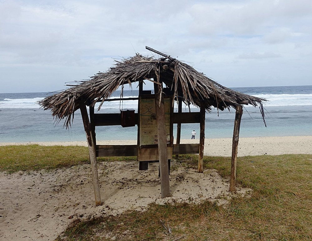 honesty box, east tanna for beach visit payments
