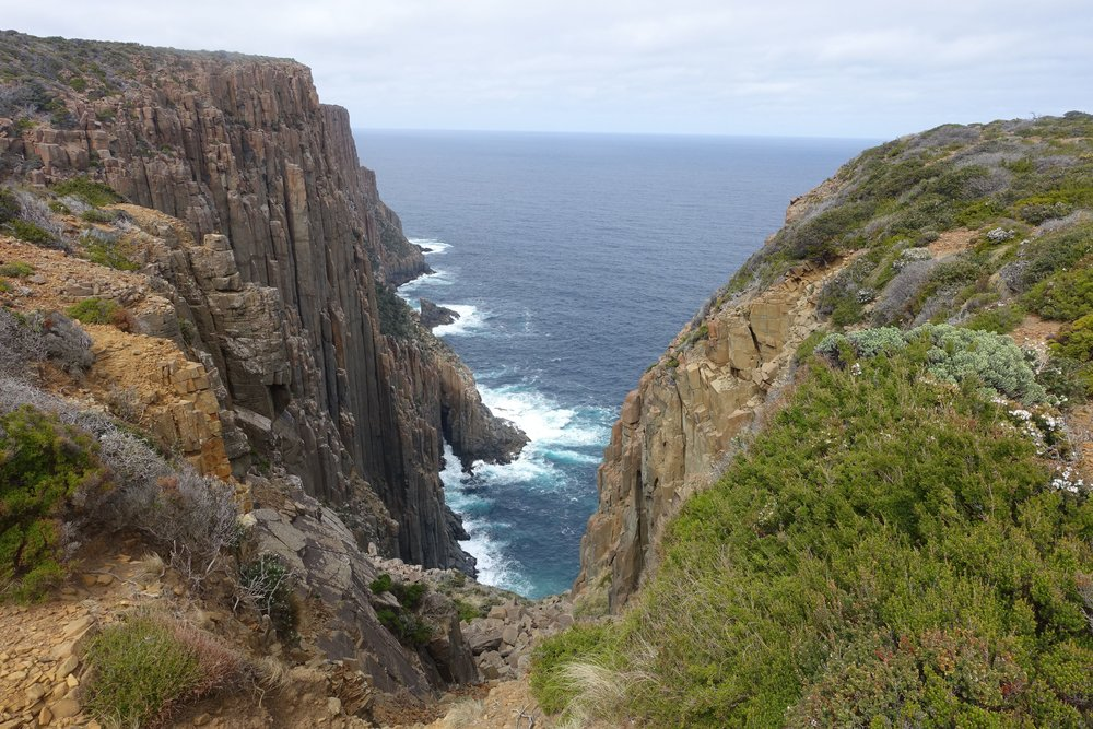 approaching cape raoul