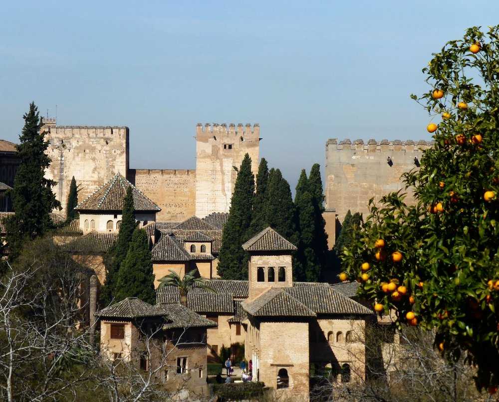 part of the alhambra