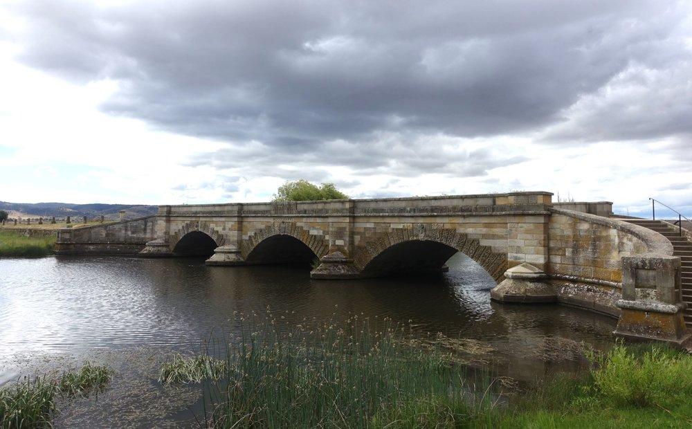 convict built bridge at ross