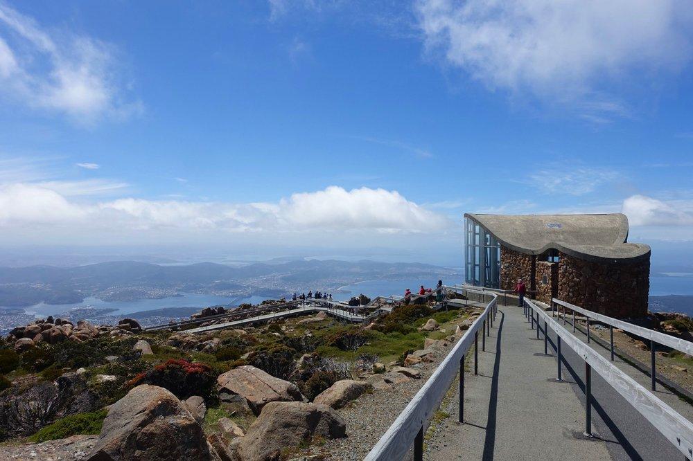 viewing area - kunanyi/Mt Wellington