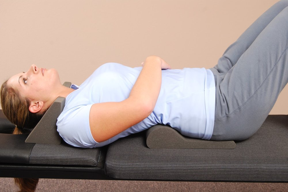 Cervical and lumbar spinal molding exercises can assist in restoring the curvature in the neck and low back. Active and passive exercises are necessary in improving your spine and posture.