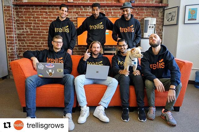 What up, fam?! #cannafam #gtwy01 #oaklandbusiness  __ #Repost @trellisgrows with @get_repost ・・・ Team work makes dream work! Much love from the Trellis family🙏🏽 #trellis #trellisgrows #seedtosale #oakland #oaklandgrown #metrc #cannabisindustry