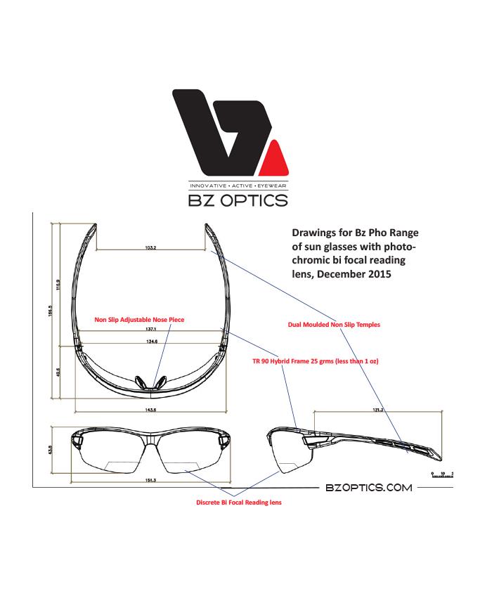 16c9b518a79 BZ Optics - unique eyewear was developed by Scott Birdsall -an avid  cyclist