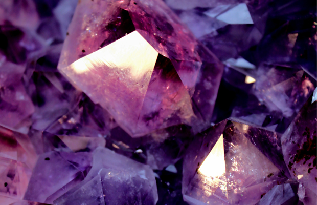 purple coloured gemstones