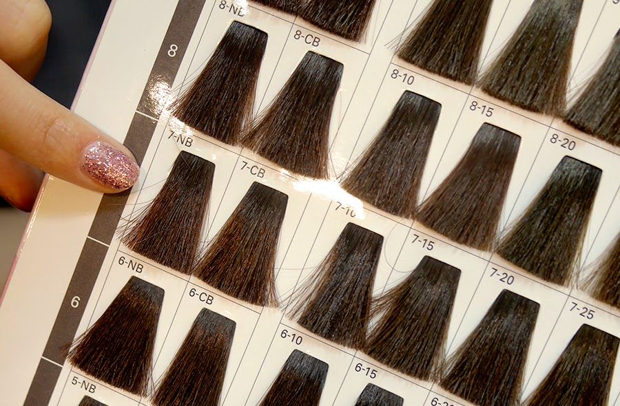 Brown Hair Colour Number Trendy Hairstyles In The USA - Hair colour number chart