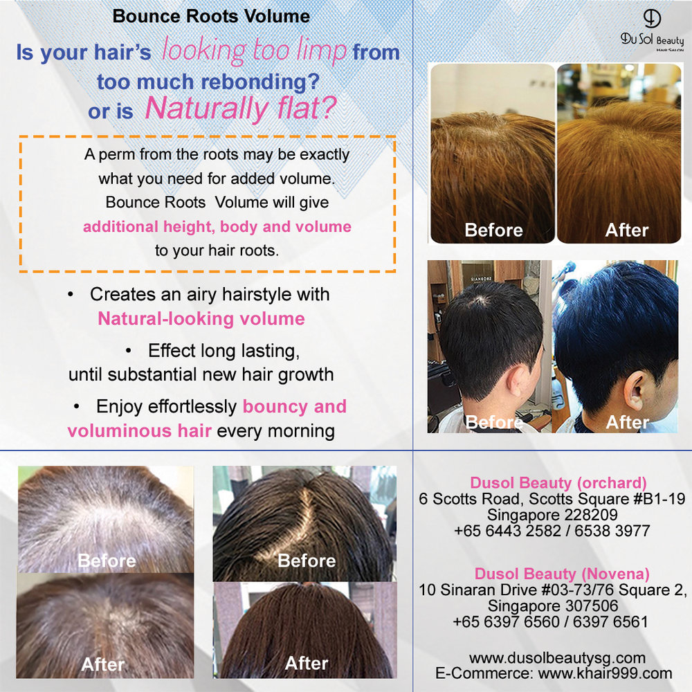Click here to purchase Bounce Roots Volume Service