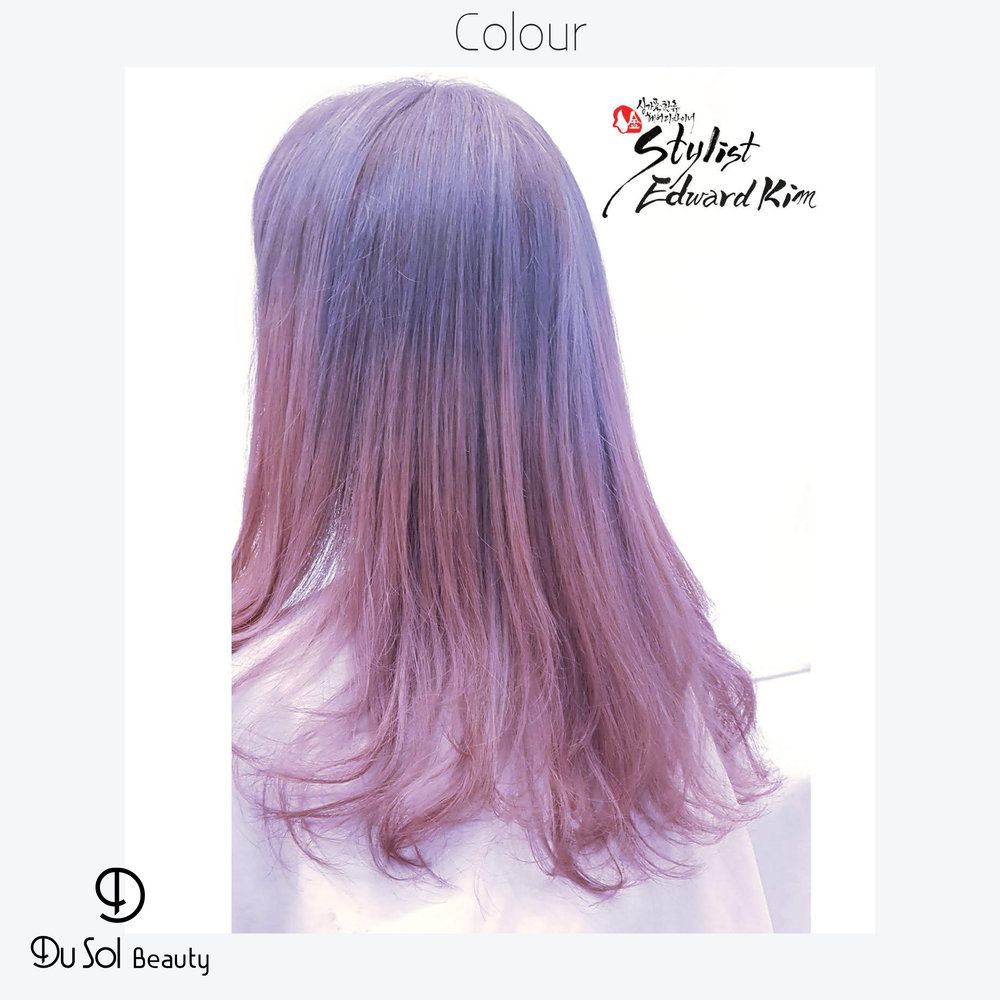 Korean Ombre Colouring