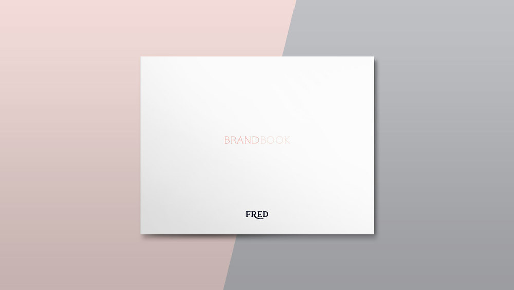FRED I Brand Book Design