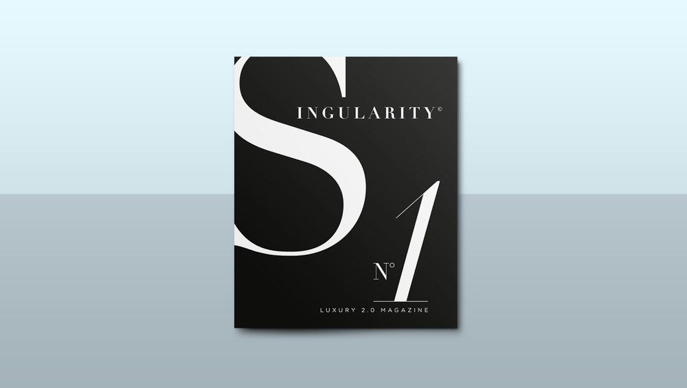 SINGULARITY MAGAZINE I Art Direction