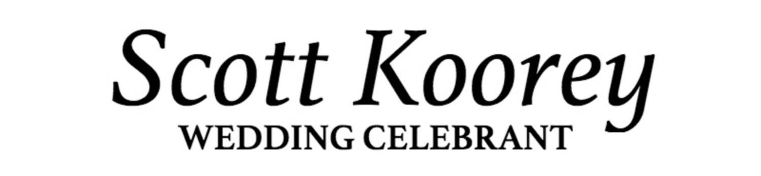 Scott Koorey - Wedding Celebrant