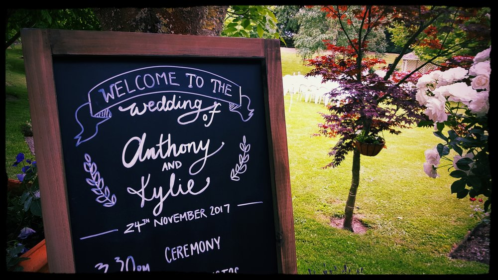 Photo credit: a celebrant who arrived nice and early