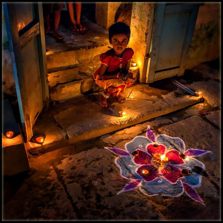 Rangoli design.  Image from Pinterest.