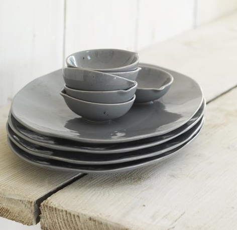 Grey Platter, £21.95 -  Pale & Interesting