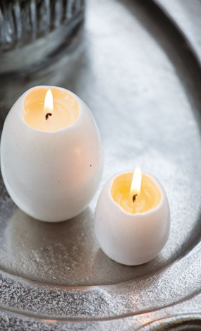 Egg Candles from just £2 each at Greige