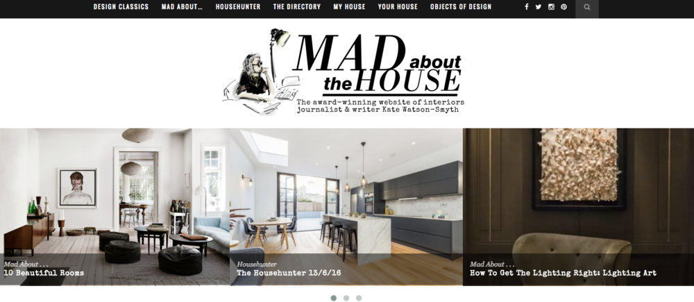 Kate Watson-Smyth's Mad About The House blog
