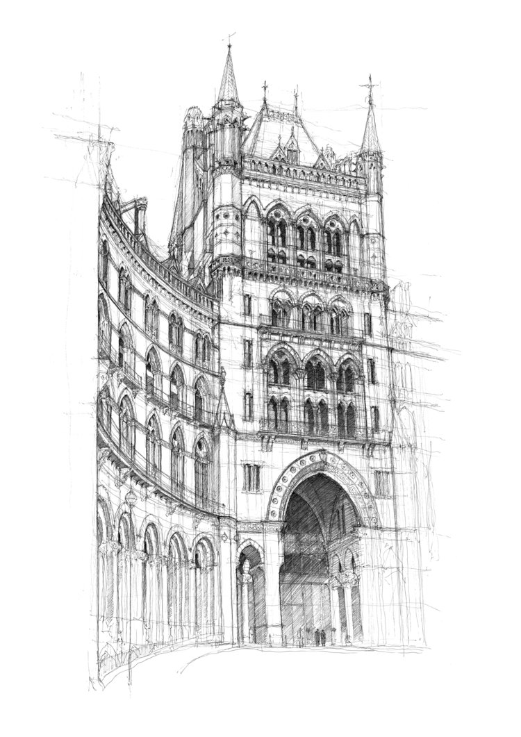 'St Pancras' © Luke Adam Hawker