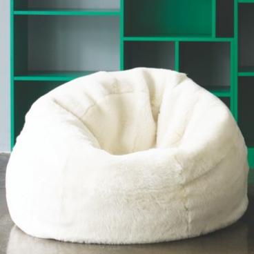 'Sheppy' sheepskin beanbag, £695 -  Habitat